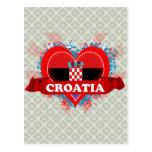 Amor Croacia del vintage I Postales