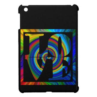 amor cuadrado espiral enmarcado colorburst