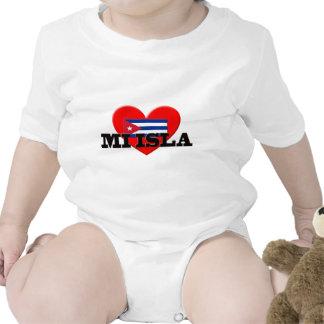 Amor Cuba del MI Isla I Camisetas
