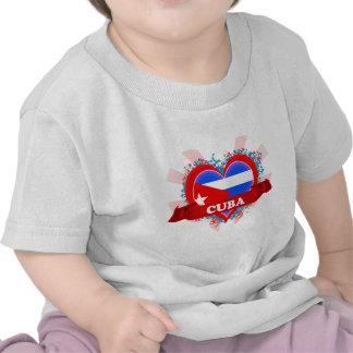 Amor Cuba del vintage I Camisetas