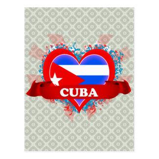 Amor Cuba del vintage I Tarjeta Postal