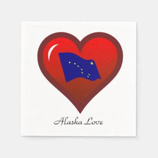 Amor de Alaska Servilleta Desechable