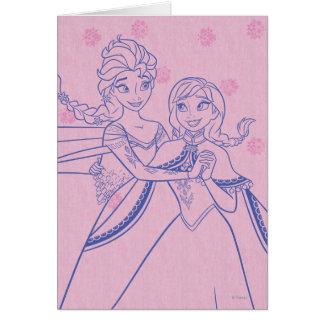 Amor de Ana y de Elsa el | I mi hermana Tarjeta De Felicitación