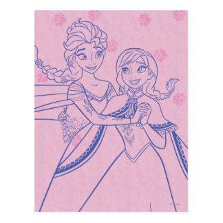 Amor de Ana y de Elsa el | I mi hermana Tarjetas Postales
