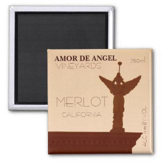 Amor de Angel Vineyards Magnet. Magnet