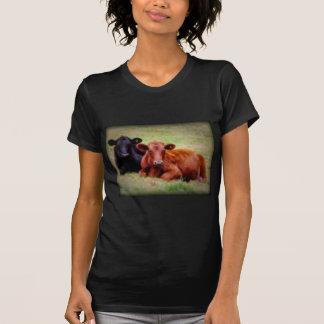 Amor de Angus - par de ganado de lado a lado Camisetas