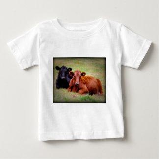 Amor de Angus - par de ganado de lado a lado T Shirts
