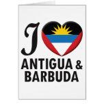 Amor de Antigua y de Barbuda Felicitación