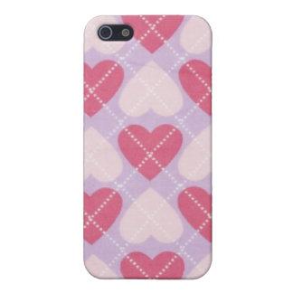 Amor de Argyle iPhone 5 Protector