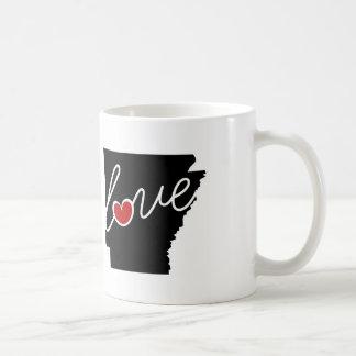 ¡Amor de Arkansas!  Regalos para los amantes de AK Taza Clásica