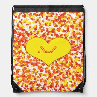 Amor de ASL-I usted con el corazón Mochila