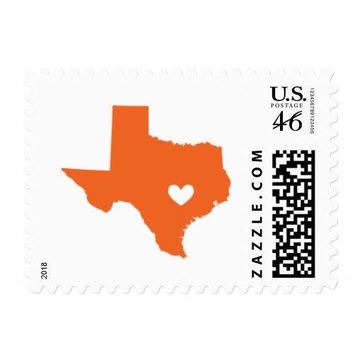 Amor de Austin, TX en naranja Envio