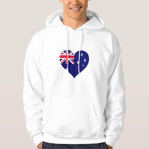 Amor de Australia Suéter Con Capucha