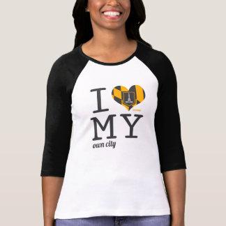 Amor de Baltimore Maryland I mi propia ciudad Playera
