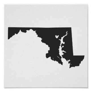 Amor de Baltimore, Maryland Posters