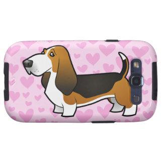 Amor de Basset Hound Galaxy S3 Cárcasas