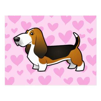 Amor de Basset Hound Postal