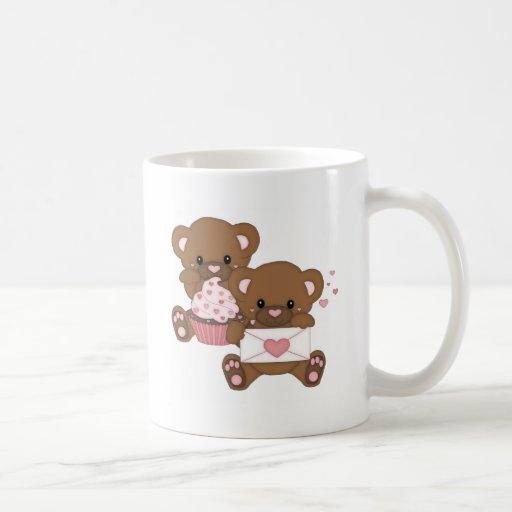 Amor de Bearly Taza De Café