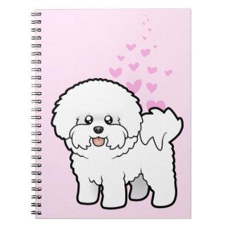 Amor de Bichon Frise Notebook