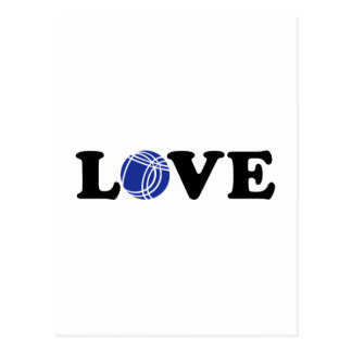 Amor de Boccia Petanque Postales