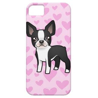 Amor de Boston Terrier iPhone 5 Cárcasa