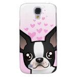 Amor de Boston Terrier Funda Samsung S4