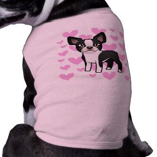 Amor de Boston Terrier Ropa De Perros