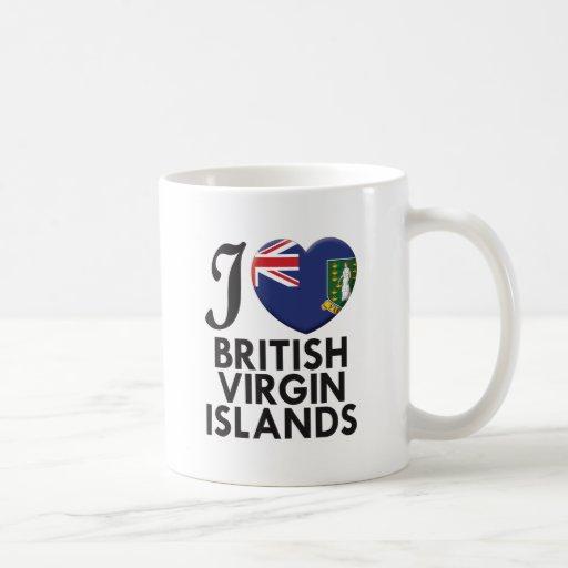 Amor de British Virgin Islands Taza