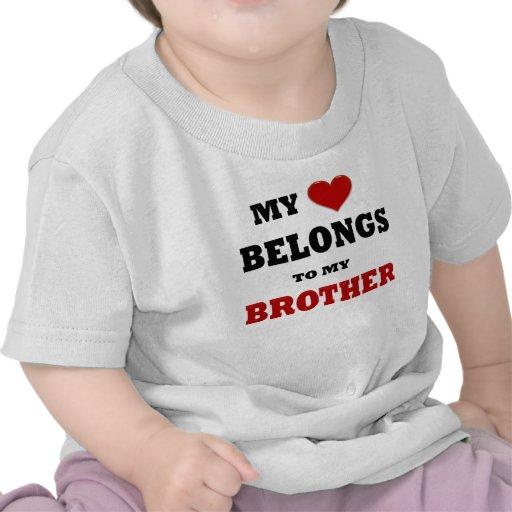 Amor de Brother Camisetas