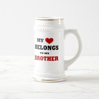 Amor de Brother Jarra De Cerveza