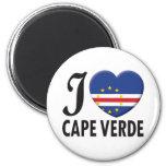 Amor de Cabo Verde Imanes De Nevera