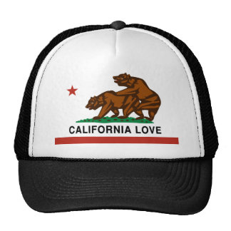 Amor de California Gorras De Camionero