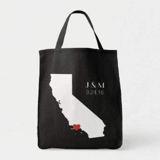 Amor de California - personalizable Bolsa Tela Para La Compra