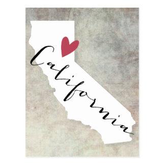 Amor de California Postal