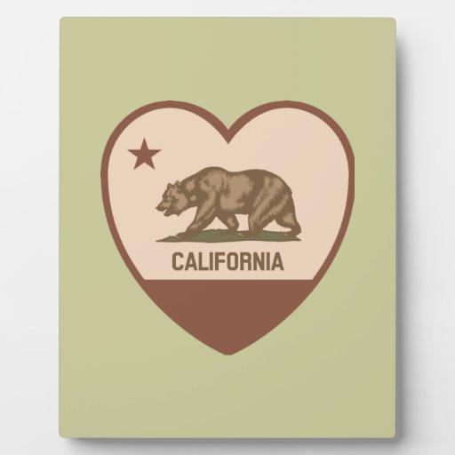 Amor de California - retro Placas De Madera