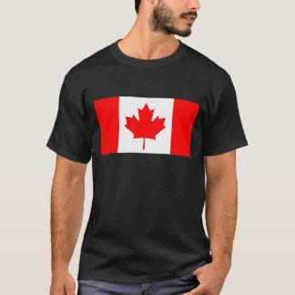 Amor de Canadá I MI plantilla de CA de la bandera Playera