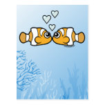 Amor de Clownfish Postal
