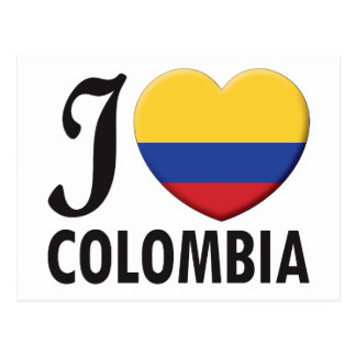 Amor de Colombia Postal