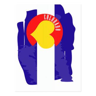 Amor de Colorado Tarjeta Postal