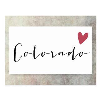 Amor de Colorado Tarjetas Postales