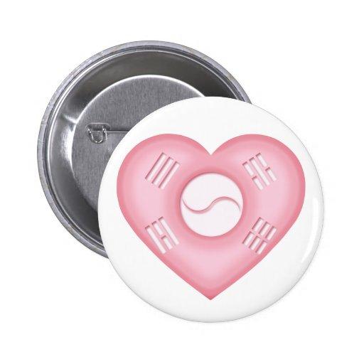 Amor de Corea Pins