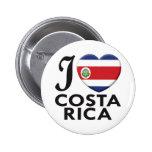 Amor de Costa Rica Pin