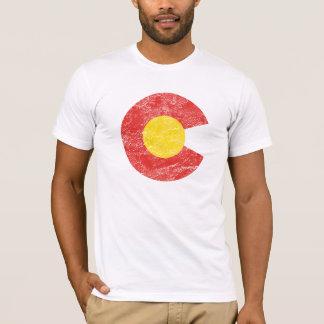Amor de Denver del Grunge de la bandera del estado Playera