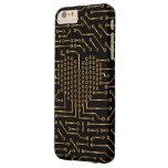 Amor de Digitaces de alta tecnología Funda De iPhone 6 Plus Barely There