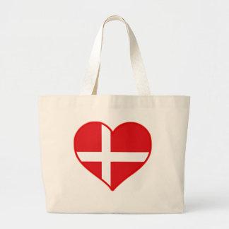 Amor de Dinamarca Bolsa Tela Grande