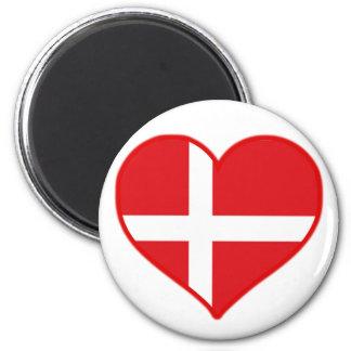 Amor de Dinamarca Imán Redondo 5 Cm