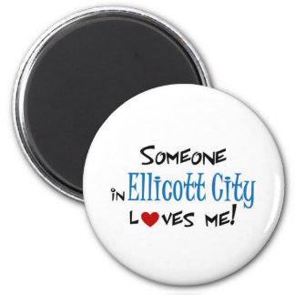 Amor de Ellicott Imán Redondo 5 Cm