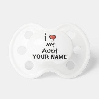 Amor de encargo del pacificador mi tía chupetes para bebés