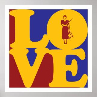Amor de enseñanza póster