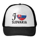 Amor de Eslovaquia Gorros Bordados